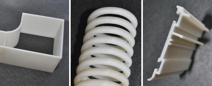 3D rapid prototyping profiles